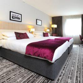 Lancaster hotel, bedroom